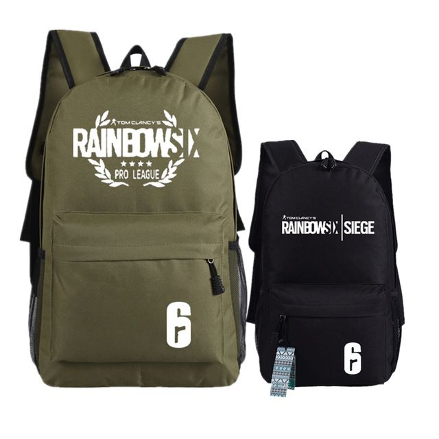 Good price Game Tom Clancy's Rainbow Six Siege Printing Military Backpack Unisex Student School Bags Canvas Laptop Backpack Rucksack just only $20.69 with free shipping worldwide  #backpacksformen Plese click on picture to see our special price for you