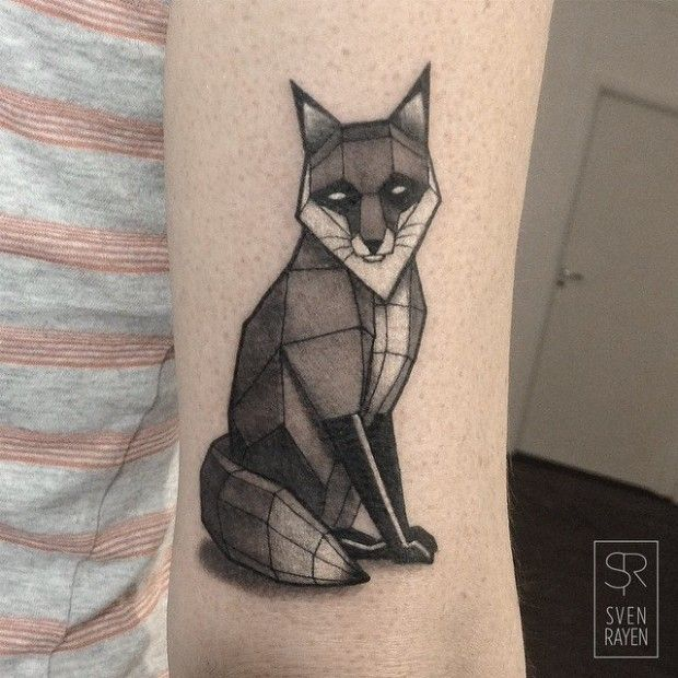 Sven Rayen Tattoo Artist: 25+ Best Ideas About Geometric Tattoo Animal On Pinterest