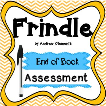 This assessment accompanies the book Frindle by Andrew Clements. It includes 20 multiple choice questions and 5 short answer critical thinking questions. Answer key is also included!