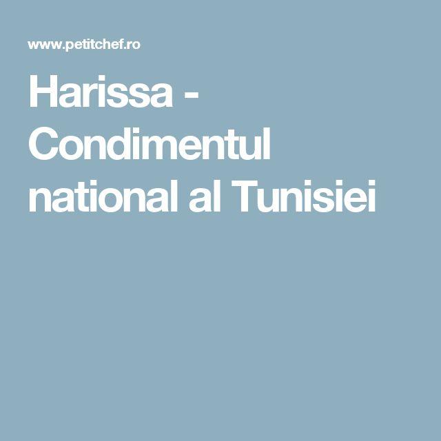 Harissa - Condimentul national al Tunisiei