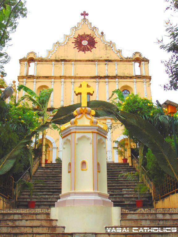Holy Cross Church, Nirmal, Nallasopara West. Photo Clicked On Its Feast Day 20th September 2015.