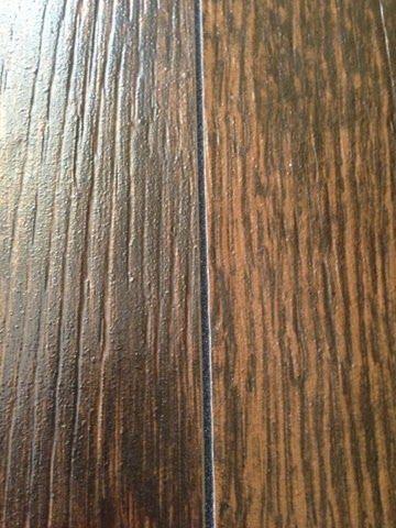 Black Epoxy Grout For Wood Plank Tile Diy Pinterest