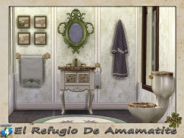 The Amamatite Refuge: S4- Bathroom