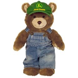 John Deere Bear from Build-A-Bear® Workshop.... So cute and adorable! Not to mention he is John Deere! Perfect Teddy bear for me :)