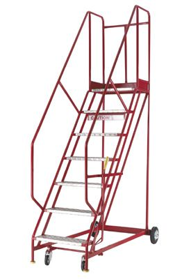 Mobile Safety Ladder-6 Thread
