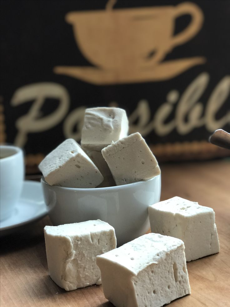 Limited Edition cold brew coffee marshmallows #handmade #natural