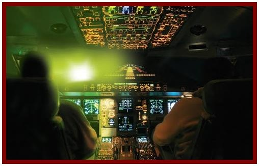 High-powered LED torches, (also known as lasers) can cause a great deal of stress to a pilot, especially when in the critical stages of a landing. In the year of 2011 this is exactly what happened when two locals in Chicago decided to shine a laser at both an approaching commercial plane and a police helicopter.