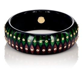 Bakelite Bangle by Mark Davis found at Barney's.