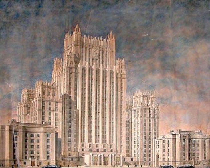 Initial project Архитектурный отдел СССР, Public Domain