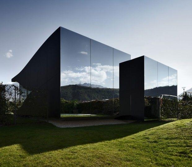 Mirror houses par peter pichler architecture