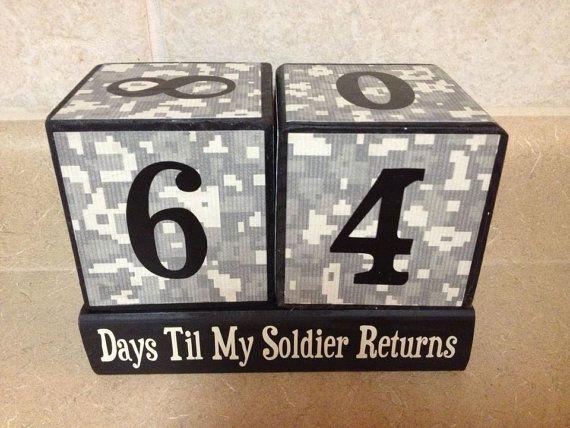 Countdown Blocks Deployment Christmas by KimsKustomKreations1, $25.00