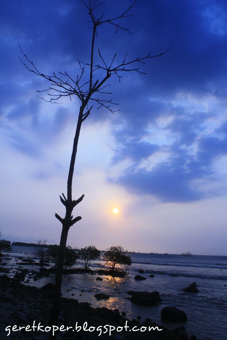 Blue Sunset, Pulau Umang, Banten
