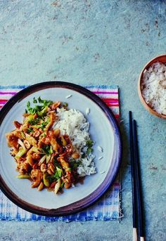 Kung Pao Chicken originates from the Sichuan Province in southwestern China and is usually quite spicy and very aromatic. This recipe from Harry Eastwood's Carneval is very quick and easy to make and tastes delicious. We love coming home to it after a long day.