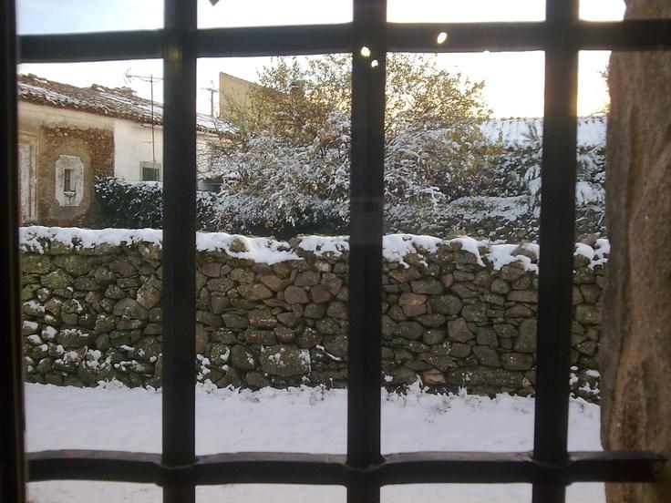 El invierno...desde la ventana.