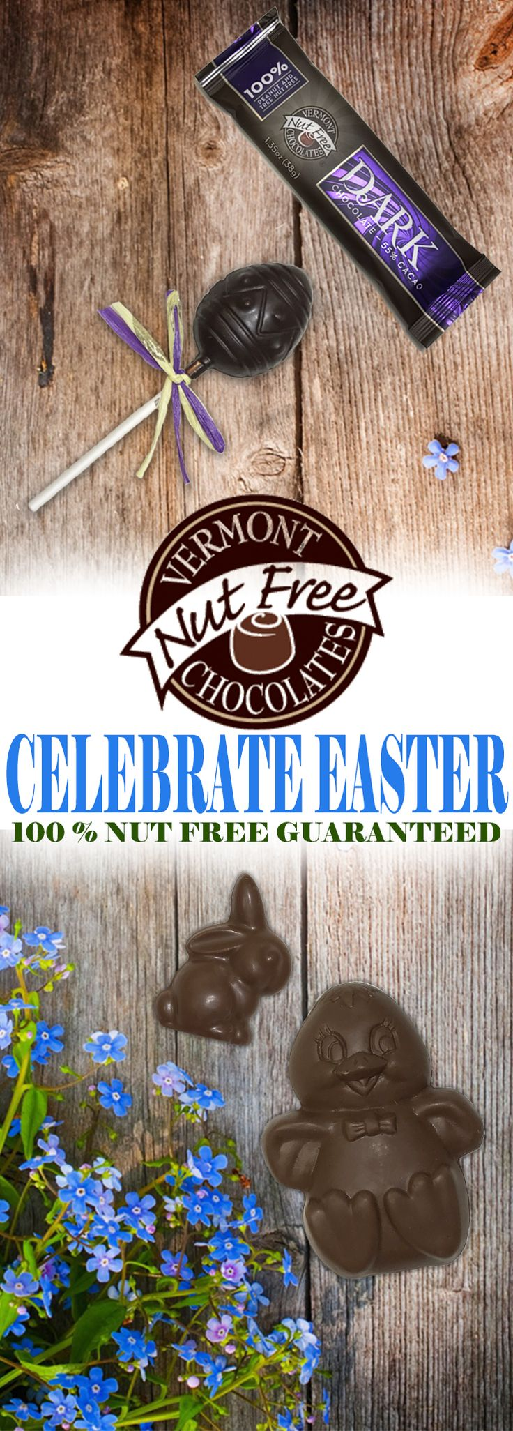 17 best easter images on pinterest nut free vermont and peanut celebrate easter this year with vermont nut free chocolates peanut and tree nut free chocolates negle Image collections