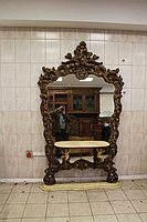 Винтажное зеркало с консолью 1930 год Lu53 95052420