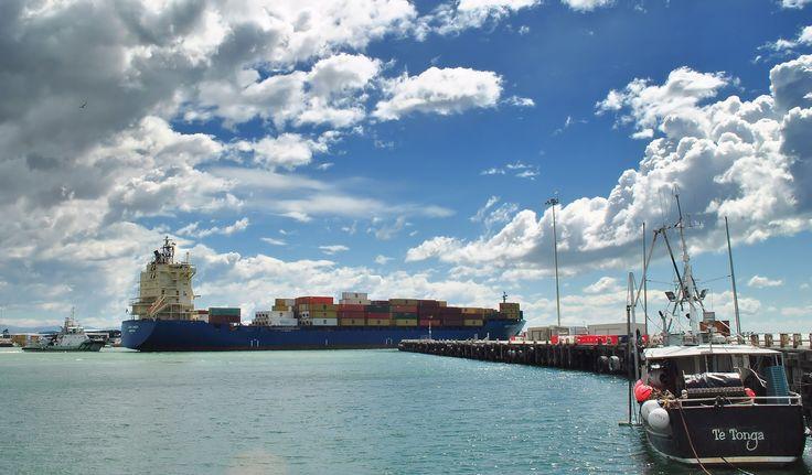 Turbulence Ahead. Timaru Port, South Canterbury NZ. Photo by Marie Adamson.