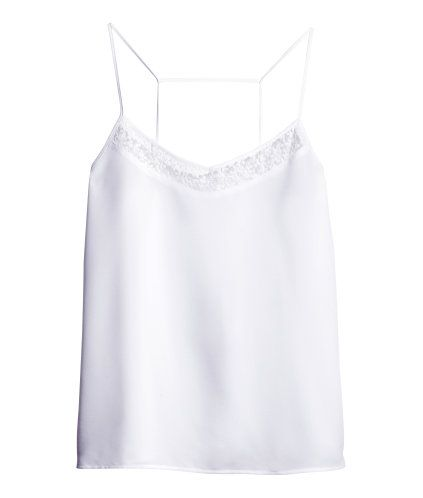 Woven top | Product Detail | H&M