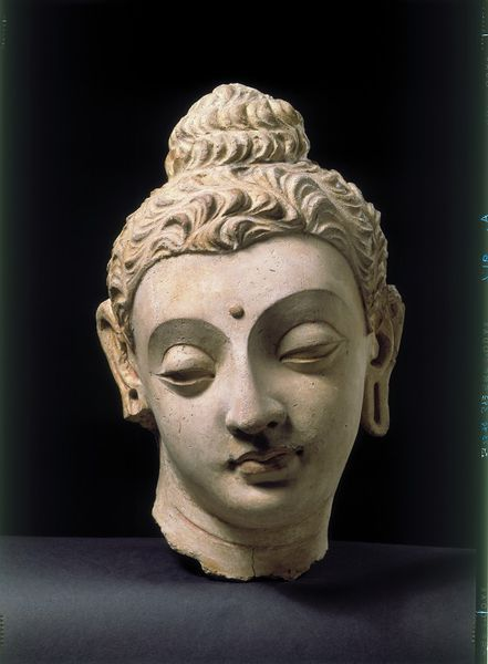 Head of the Buddha (Sculpture) Head of the Buddha (Sculpture) Date: 4th century-5th century (made) Place: Afghanistan
