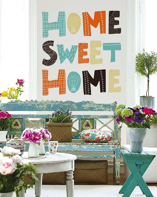 VINTAGE & CHIC: decoración vintage para tu casa · vintage home decor: Paredes sabias · Wise walls