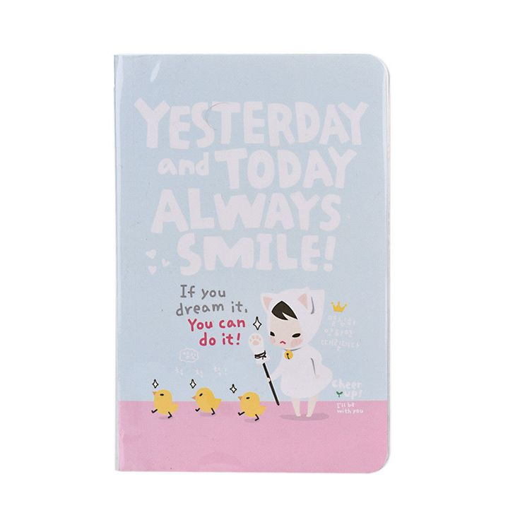 Cartoon Cute Hard Cover Diary Notebooks Red Hat Girl Agenda for Weekly Planner | eBay