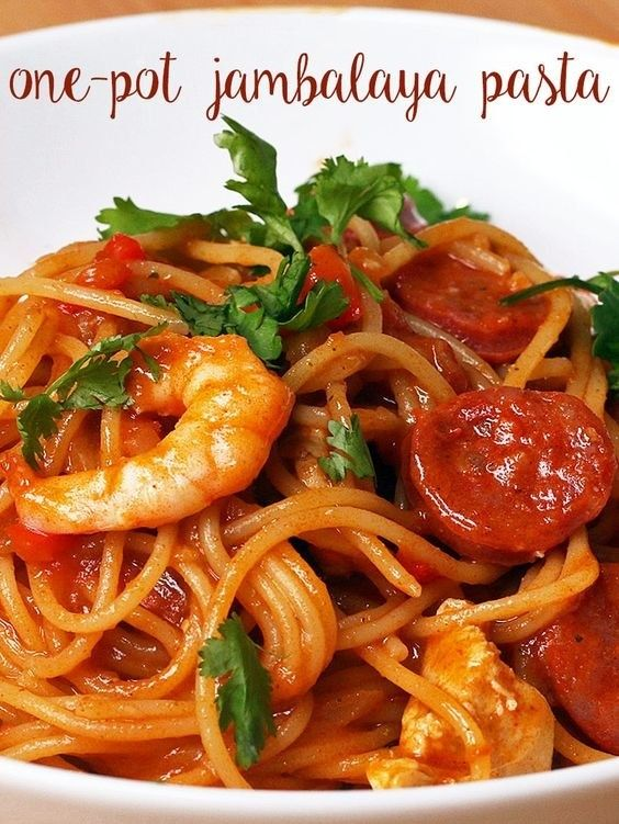 One Pot Jambalaya Pasta | 15 Low Key Healthy Dinners To Try Out