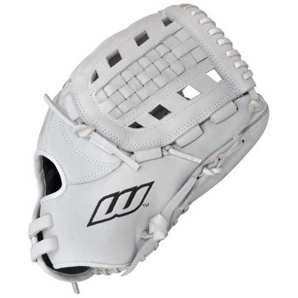 """Worth Women's Liberty Advanced Fastpitch Softball Glove, 12"""""""" White. LA120WW"""