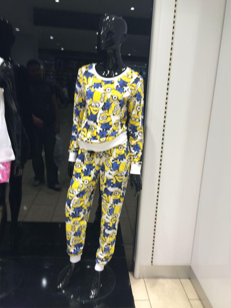 Minion Pyjamas Primark Liverpool 2014 Minions