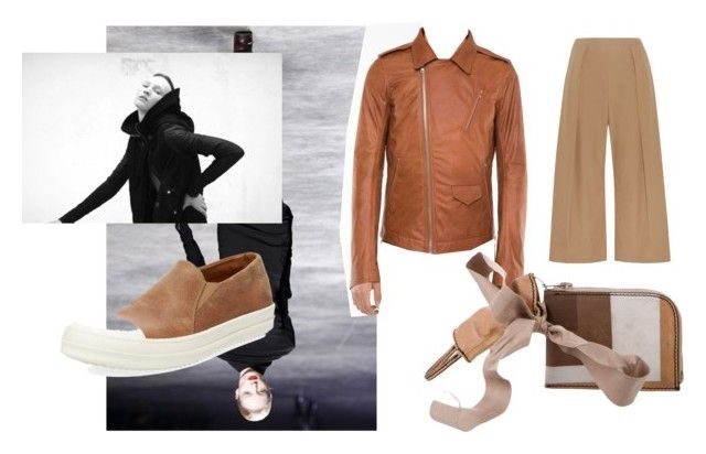 """rickowenswannaa"" by oliver-heng on Polyvore featuring Rick Owens, N°21, men's fashion and menswear"