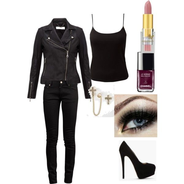"""""""the mortal instruments: shadow hunter outfit"""" by y-moran on Polyvore"""