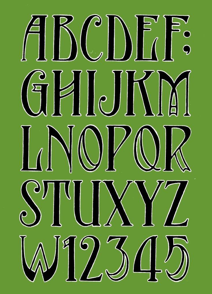 Alphabet nach dem Schriftzug am Hoteleingang von Frits Jonker …