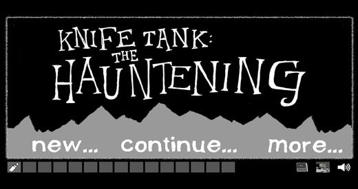 'Knifetank: The Hauntening', A Sinister Point-and-Stab Adventure Game That Pokes Fun at Traditional Adventure Games