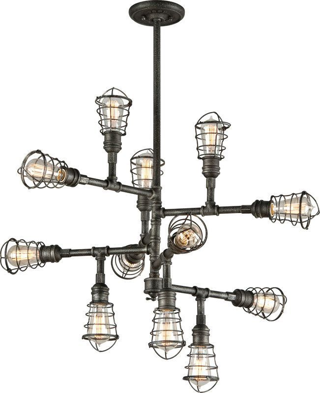Troy Lighting Conduit Chandelier F3817