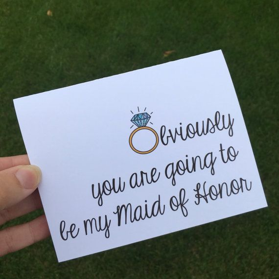 Will you be my Bridesmaid  Bridesmaid card  by PersonalPaperHugs