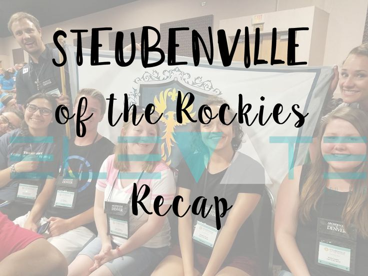 My experience at a Steubenville conference