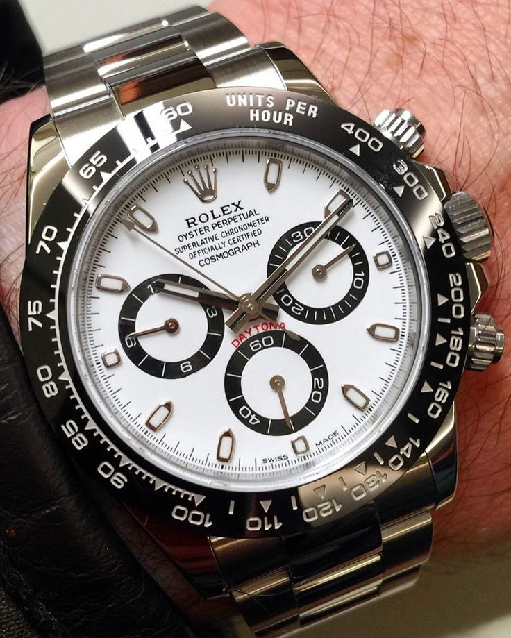 New Daytona 116500 Rolex Daytona Stainless Steel with black Ceramic Bezel Your thoughts on this?or??? by thewatchlovers #rolex #submariner