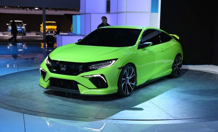2017 Honda Civic Si Coupe Upcoming Cars Release Date and Capture Exterior looks in Auto Show