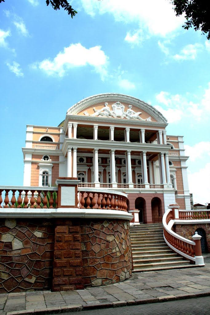Teatro Amazonas.Manaus. - Brazil