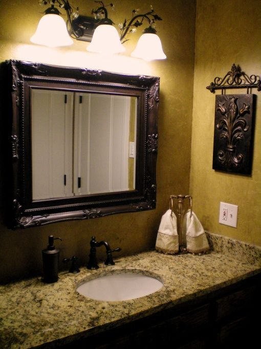 master bathroon a tuscan style bathroom the walls are venetian plaster and glazed with. beautiful ideas. Home Design Ideas