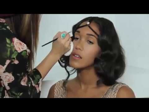 Makeup Tutorial   Great Gatsby Costume Makeup Tips