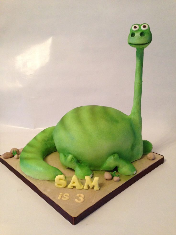Good Dinosaur Cake Design : The Good Dinosaur cake Deliciousness Cakes Pinterest ...