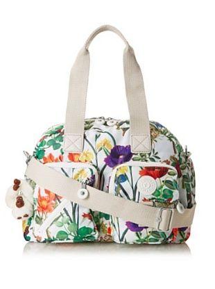 Kipling Defea Medium Handbag (Frond Print)