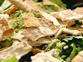 Syrian Recipe for Green Fattoush from the Lebanese Recipes Kitchen.