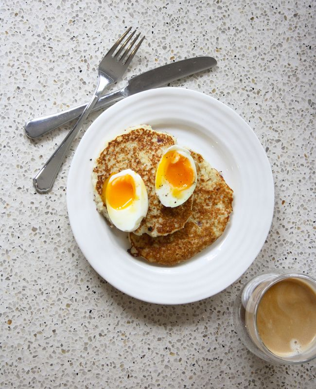 POTATO PANCAKES (and why some veggies aren't all they're cracked up to be)