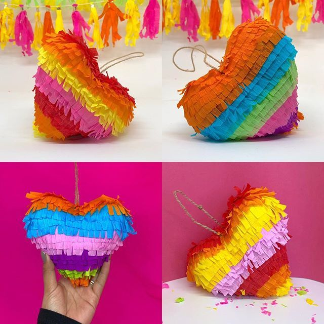 Love, love, all you need is this cute pinata! ❤️💕❤️ 3D