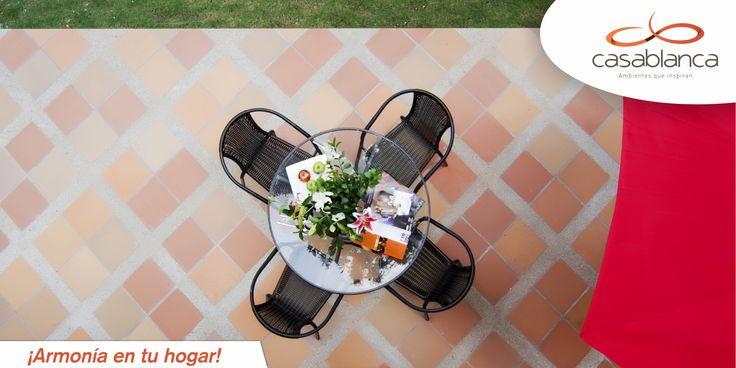 Adquiere los mejores pisos de gres del mercado con Casablanca. http://goo.gl/xliiR8