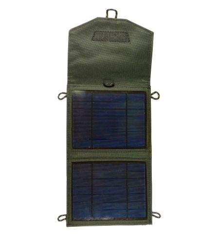 Ηλιακός Φορτιστής Output 3,5W USB 5V & αναπτήρα 12V Πάνελ 5W Tig