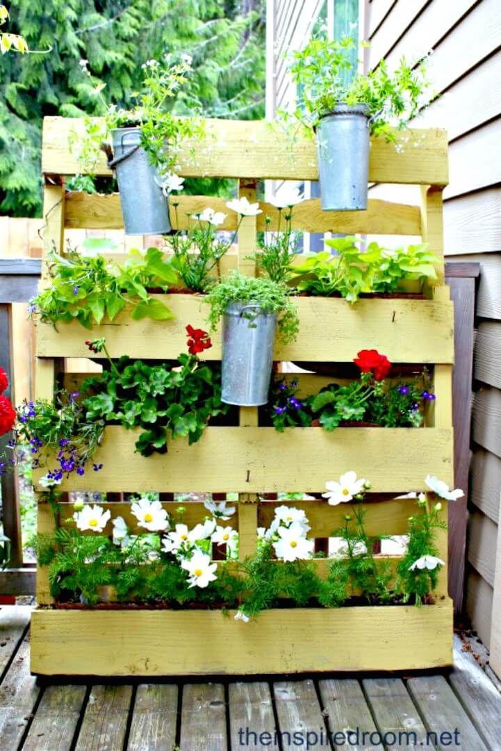 Pallet Garden 30 Diy Pallet Garden Projects To Update Your