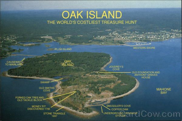 Oak Island Money Pit Solved | Oak Island, The World's Costliest Treasure Hunt Mahone Bay, NS Canada