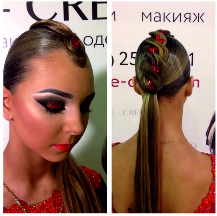 Acconciature Per Balli Latino Americani. 1059 best ballroom hair images on  pinterest